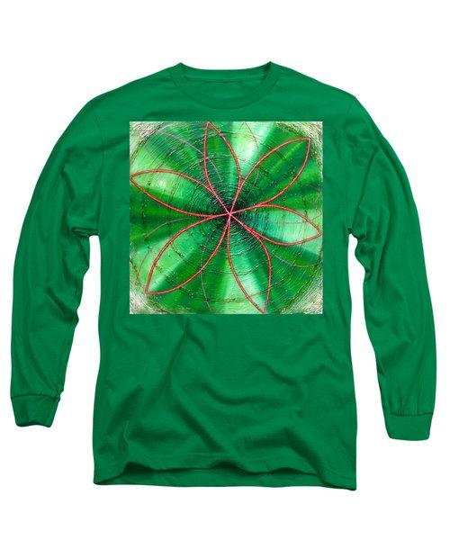 Green Chakra Long Sleeve T-Shirt
