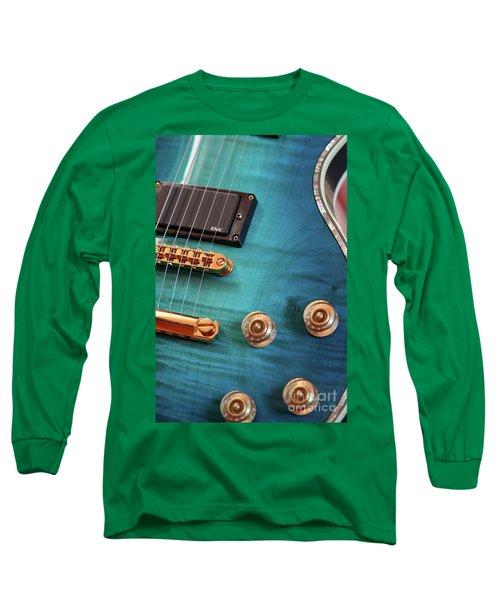 Guitar Blues Long Sleeve T-Shirt