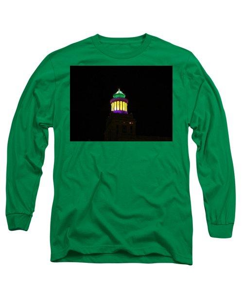 Hibernia Tower - Mardi Gras Long Sleeve T-Shirt