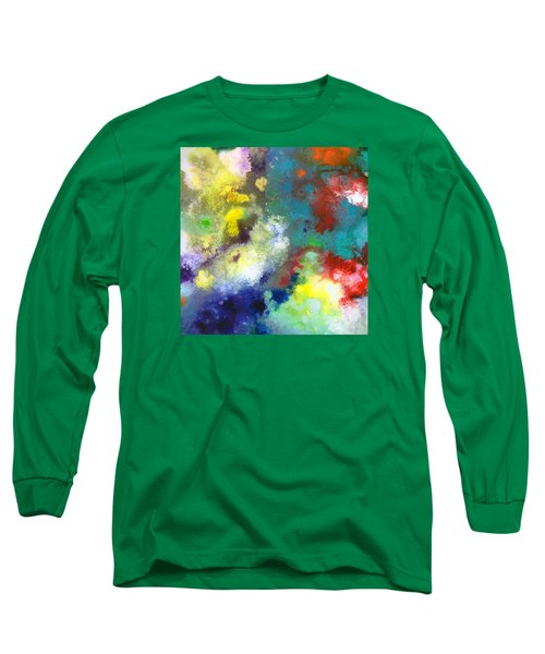 Holding The High Watch Canvas Two Long Sleeve T-Shirt