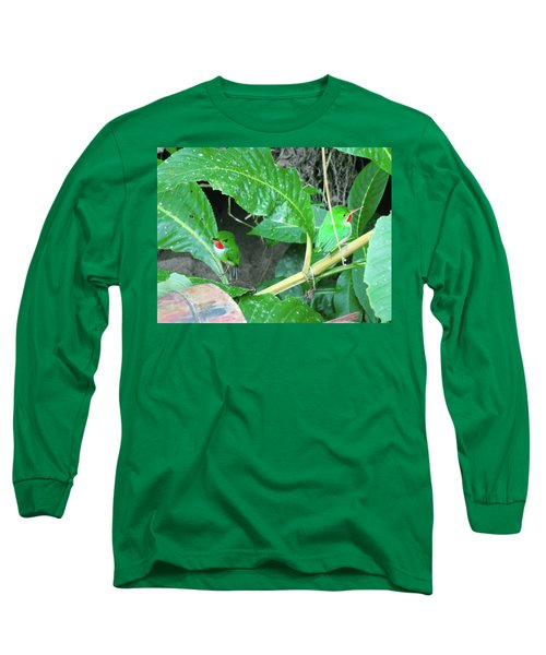 Jamaican Toadies Long Sleeve T-Shirt by Carey Chen