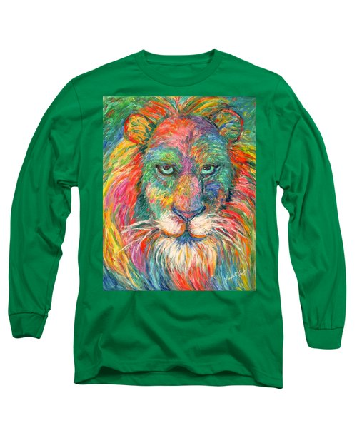 Lion Explosion Long Sleeve T-Shirt