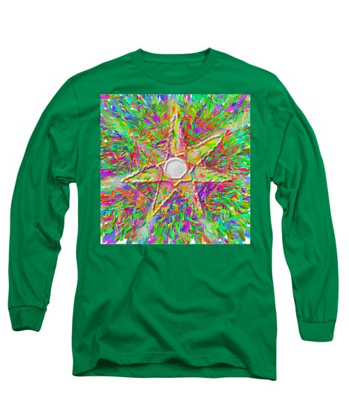 Mandala 1 22 2015 Long Sleeve T-Shirt by Hidden  Mountain