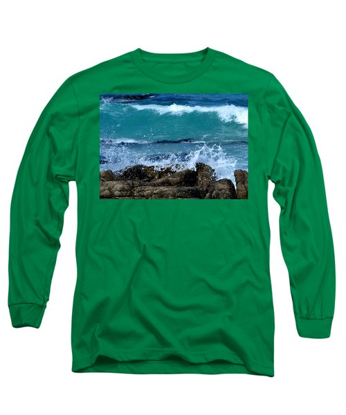 Long Sleeve T-Shirt featuring the photograph Monterey-3 by Dean Ferreira