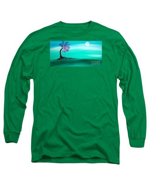 Moonlit Palm Long Sleeve T-Shirt
