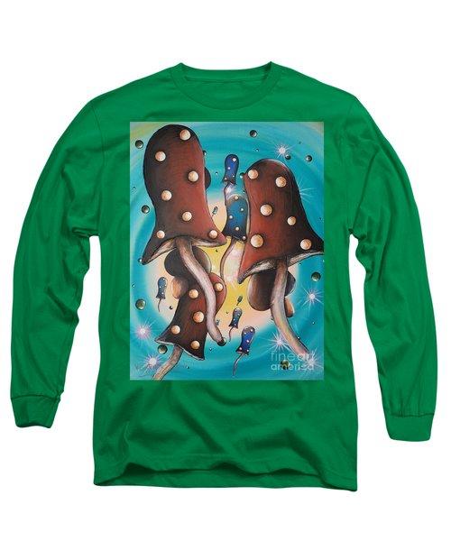Mushroom Migration Long Sleeve T-Shirt