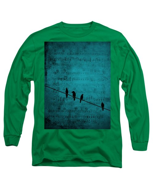 Music Soothes The Soul Long Sleeve T-Shirt by Andrea Kollo