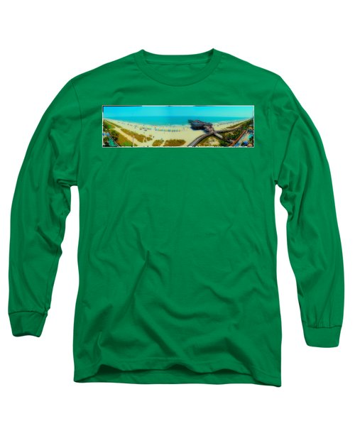 Long Sleeve T-Shirt featuring the photograph Myrtle Beach South Carolina by Alex Grichenko