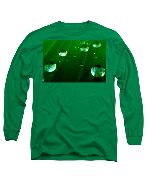 Long Sleeve T-Shirt featuring the photograph Nature's Bowling by Bliss Of Art