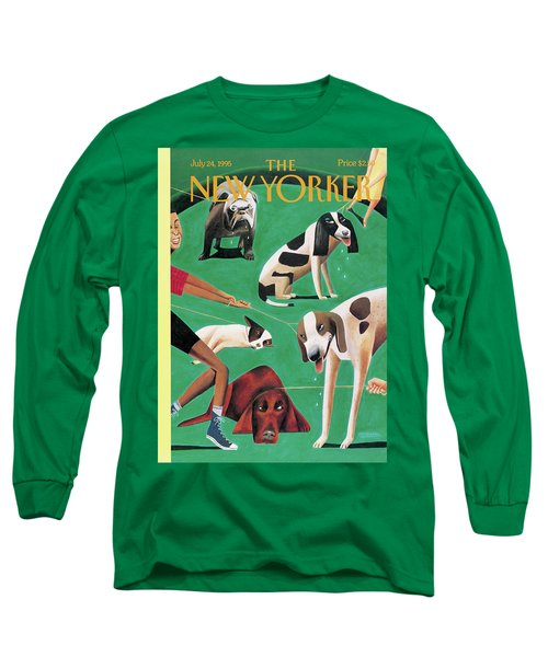 New Yorker July 24th, 1995 Long Sleeve T-Shirt