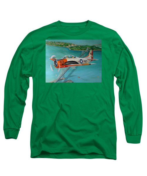 North American T-28 Trainer Long Sleeve T-Shirt