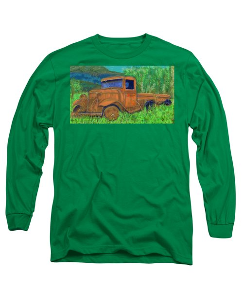Old Canadian Truck Long Sleeve T-Shirt