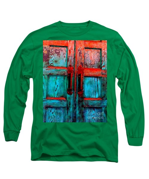 Old Church Door Handles 2 Long Sleeve T-Shirt