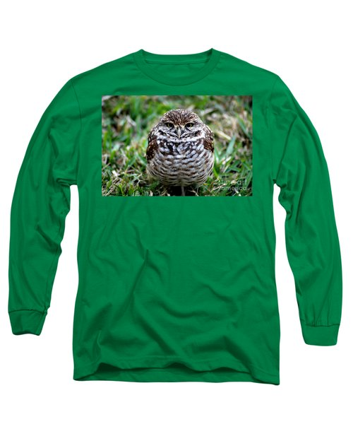 Owl. Best Photo Long Sleeve T-Shirt by Oksana Semenchenko