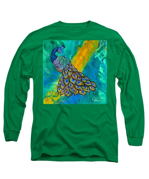 Peacock Waltz II Long Sleeve T-Shirt
