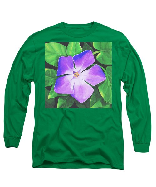 Periwinkle Long Sleeve T-Shirt