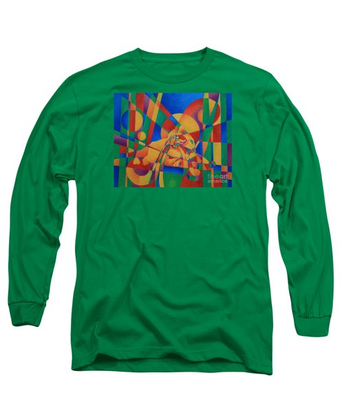Primary Cat IIi Long Sleeve T-Shirt by Pamela Clements