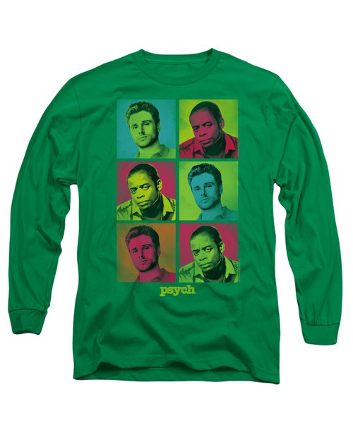 Psych - Squared Long Sleeve T-Shirt