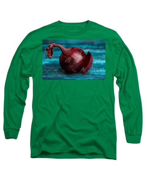 Red Onions Long Sleeve T-Shirt by Nailia Schwarz