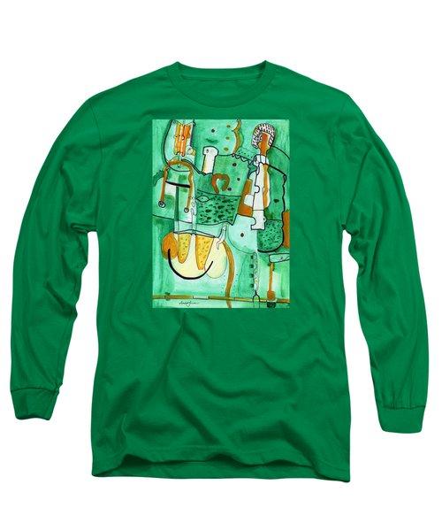 Reflective #8 Long Sleeve T-Shirt