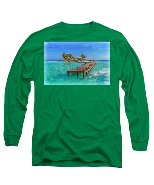 Robinson Island Long Sleeve T-Shirt by Hanny Heim