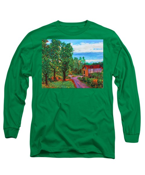 Scene From Giverny Long Sleeve T-Shirt
