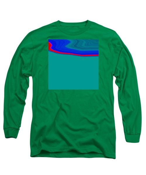 Shoreline II C2014 Long Sleeve T-Shirt by Paul Ashby