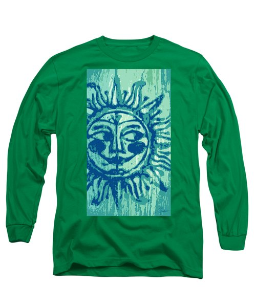 Sol -aqua Long Sleeve T-Shirt