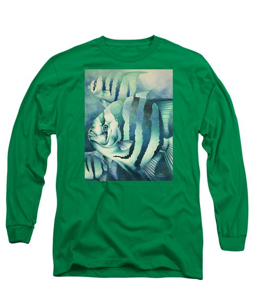 Spadefish Long Sleeve T-Shirt by William Love
