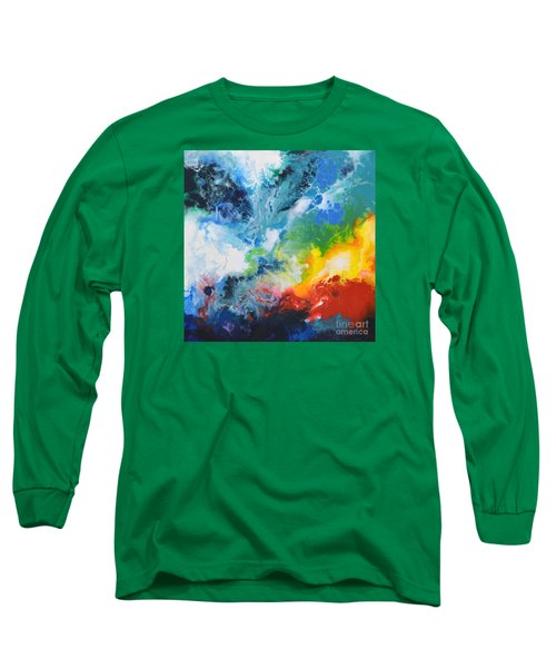 Spark Of Life Canvas Two Long Sleeve T-Shirt