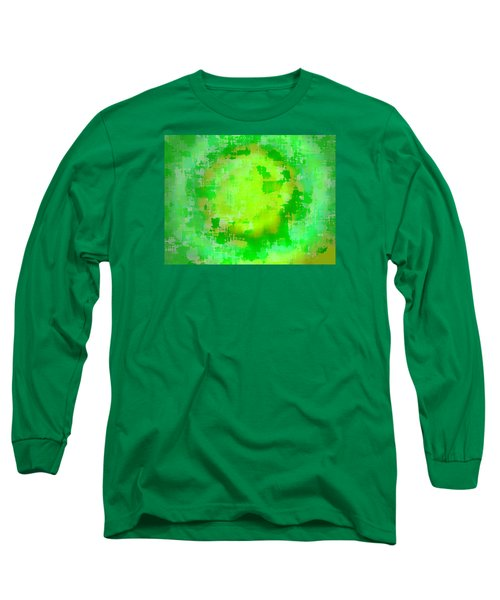 Original Abstract Art Painting Sunlight In The Trees  Long Sleeve T-Shirt