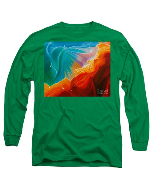 Swan Nebula Long Sleeve T-Shirt