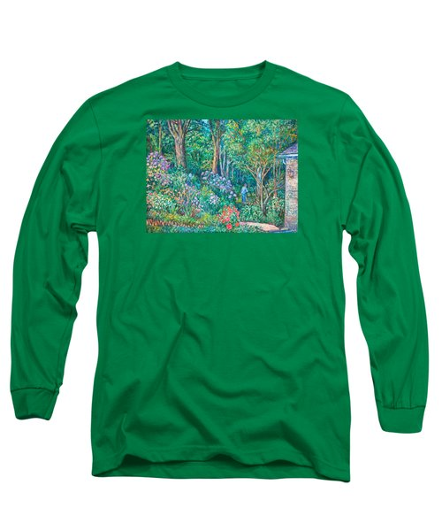 Long Sleeve T-Shirt featuring the painting Taking A Break by Kendall Kessler