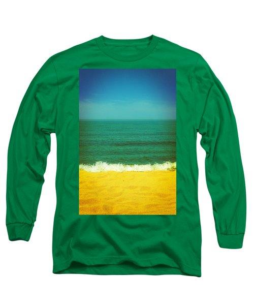Teal Waters Long Sleeve T-Shirt