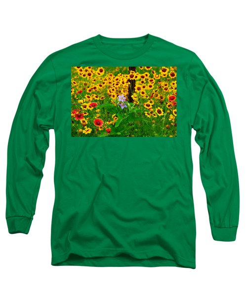 Texas Spring Delight Long Sleeve T-Shirt