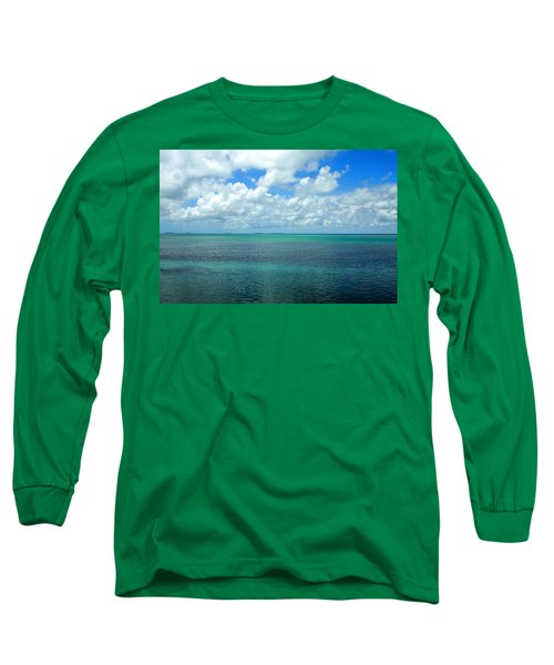The Florida Keys Long Sleeve T-Shirt by Amy McDaniel