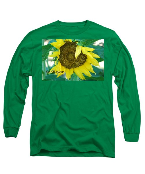 Sunflower Garden Long Sleeve T-Shirt