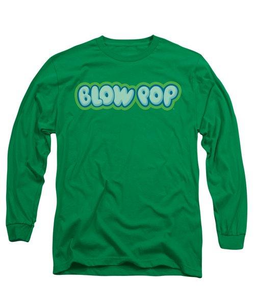 Tootsie Roll - Blow Pop Logo Long Sleeve T-Shirt