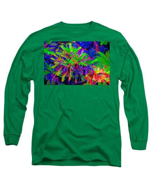 Long Sleeve T-Shirt featuring the photograph Tropicals Gone Wild by David Lawson