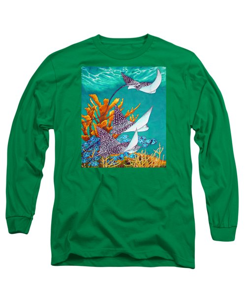 Under The Bahamian Sea Long Sleeve T-Shirt