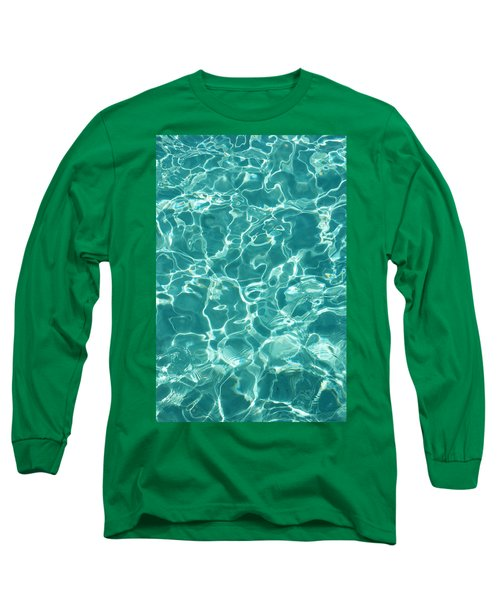 Water Meditation I. Five Elements. Healing With Feng Shui And Color Therapy In Interior Design Long Sleeve T-Shirt