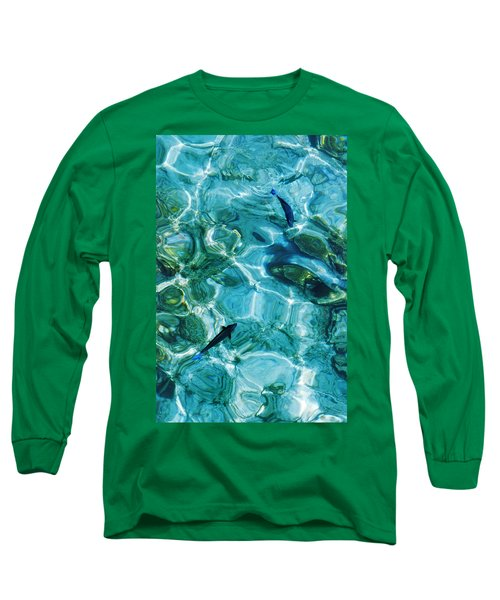 Water Meditation II. Five Elements. Healing With Feng Shui And Color Therapy In Interior Design Long Sleeve T-Shirt