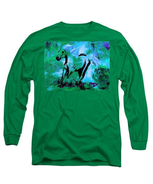 Wild Midnight Long Sleeve T-Shirt