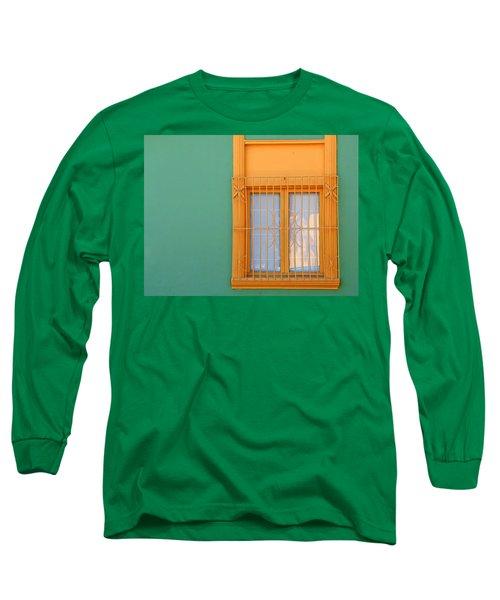 Windows Of The World - Santiago Chile Long Sleeve T-Shirt