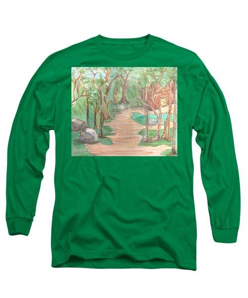 Zen House Long Sleeve T-Shirt