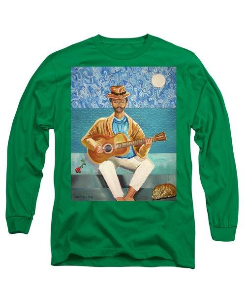 A Sad Song Long Sleeve T-Shirt by John Keaton