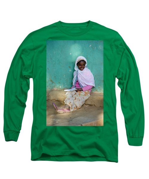 Ethiopia-south School Girl Long Sleeve T-Shirt