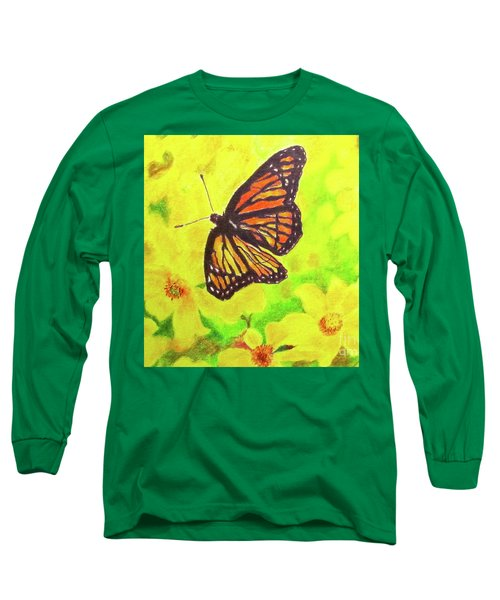 Free To Fly Long Sleeve T-Shirt by Beth Saffer