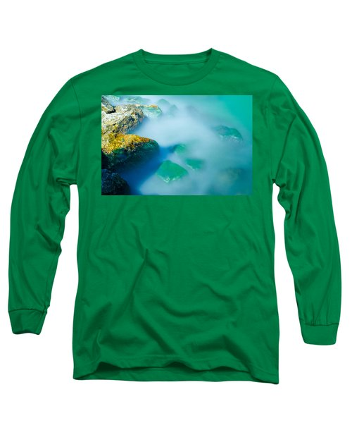 Misty Water Long Sleeve T-Shirt by Jonah  Anderson