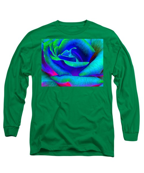 Painted Rose 2 Long Sleeve T-Shirt